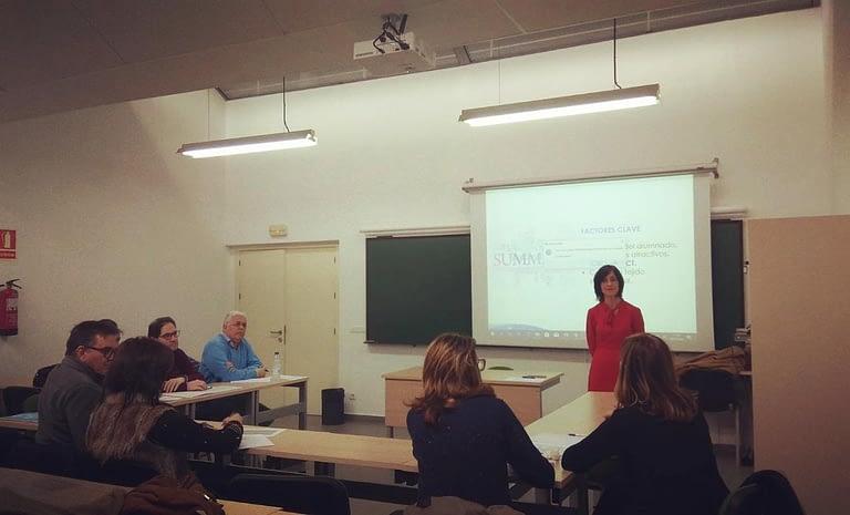 Rocío Perez Guardo. Innovación docente en la Universidad de Valladolid